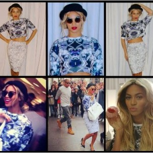 Beyoncé posts new photos to Instagram