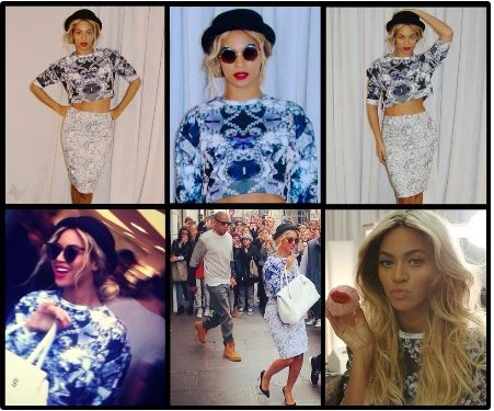 Beyonce in Jaded London 1