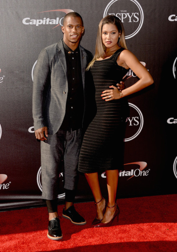 Victor Cruz and Elaina Watley ESPY