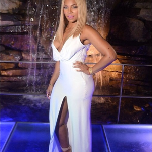 Ashanti celebrates mother Tina Douglas' birthday in all white everything