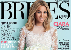 Wedding Wednesday: Ciara covers 'Brides' Magazine