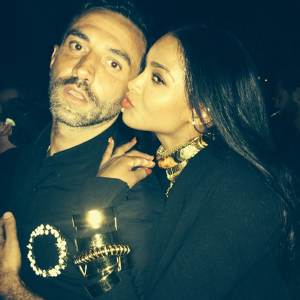 Ciara steps out for Riccardo Tisci's birthday bash in high style