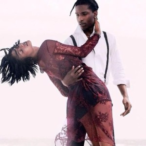 Chanel Iman and A$AP Rocky showcase their love in 'VOGUE's' September issue