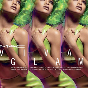 Rihanna is green with envy for new MAC Viva Glam cosmetics line