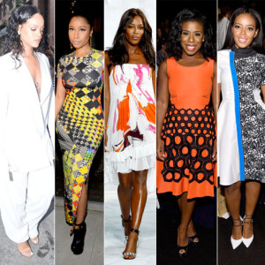 Celebrities take over Mercedes-Benz Fashion Week SS15