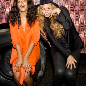 Sisterly love: Beyoncé parties with Solange at the 'Ball of Beaucoup'