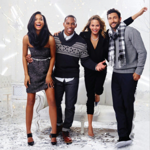 Chanel Iman, Chrissy Teigen & Victor Cruz shine in new Gap holiday ad campaign