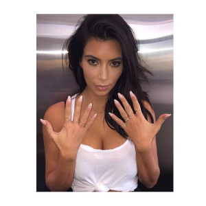 Kim Kardashian expresses her love for North with jewelry