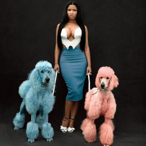 Nicki Minaj bares her breasts for 'GQ' magazine