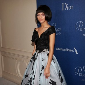 Zendaya Coleman wigs out in blunt cut bob