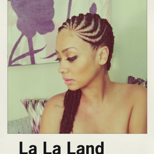 Lala Anthony gets braided for fall