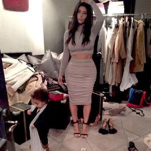 Kim Kardashians' closet is out of control!