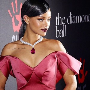 Rihanna hosts first-ever Diamond Ball