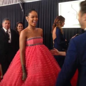 Rihanna's pink pouf, Giambattista Valli gown inspires hilarious Grammy memes