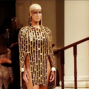 Amber Rose goes commando at New York Fashion Week