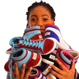 Mo'Ne Davis pays it forward with new sneaker line